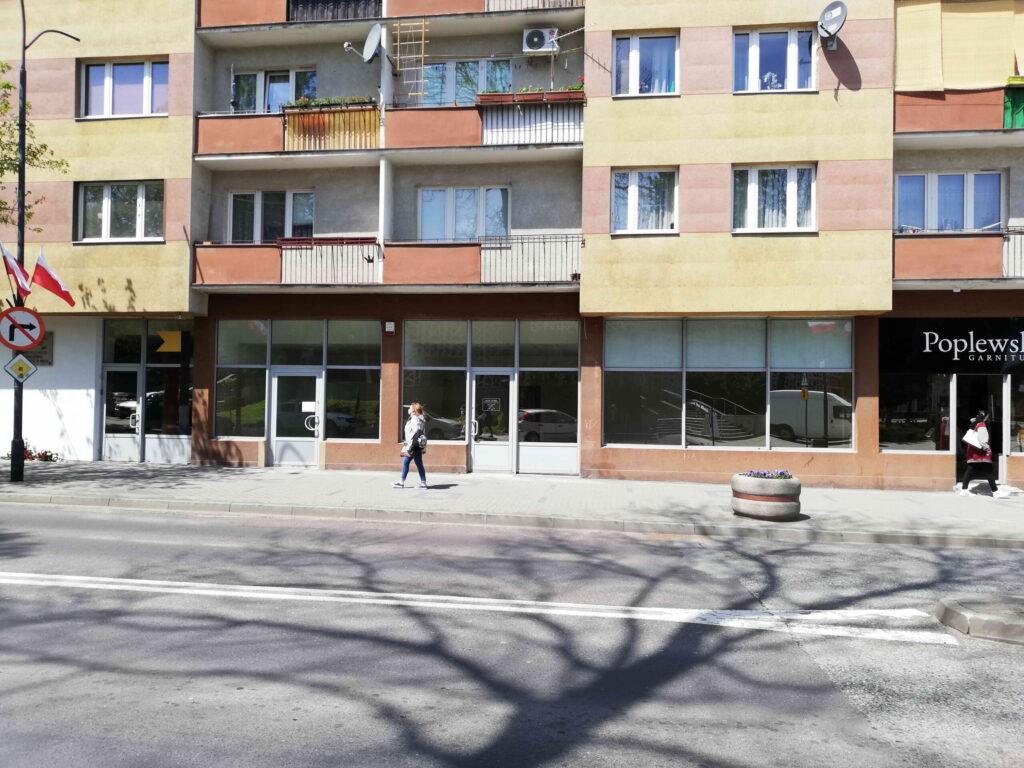 ul. Kołłątaja 2 – dwa lokale użytkowe do wynajęcia – 92m2 i 44m2