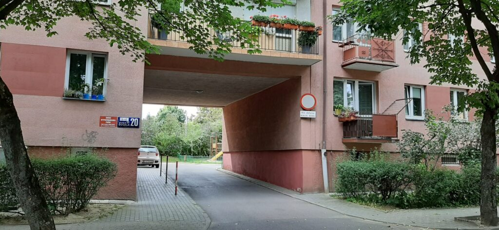 Ducala 20 – remont balkonów – kl. I i II