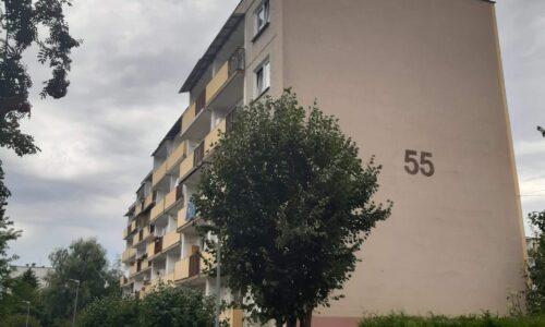 Krasińskiego 55 – docieplenie ściany południowej oraz loggi