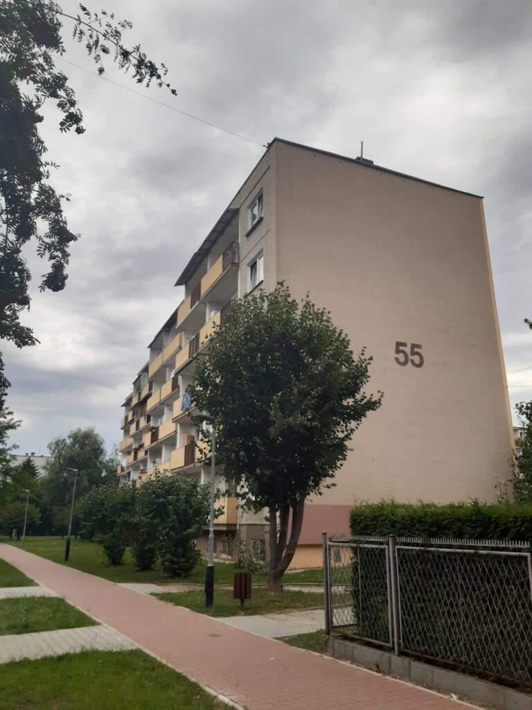 Krasińskiego 55 – remont z dociepleniem ściany południowej oraz loggi balkonowych – ciąg dalszy