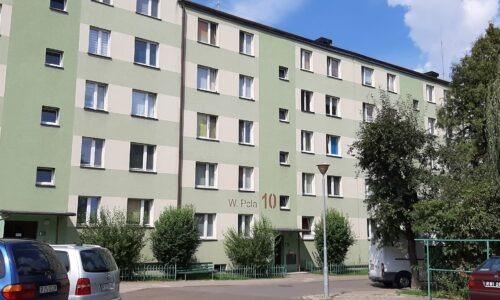 W. Pola 10 – remont balkonów – kl. IV, V i VI