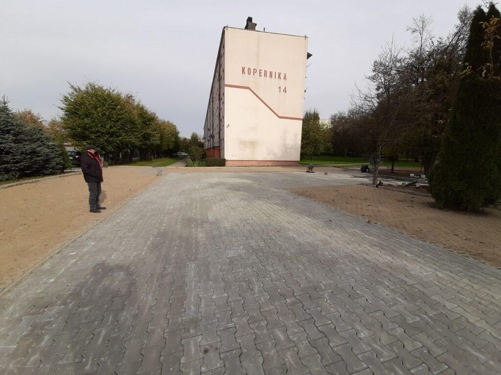 Kopernika 14 – modernizacja miejsc postojowych przy budynku