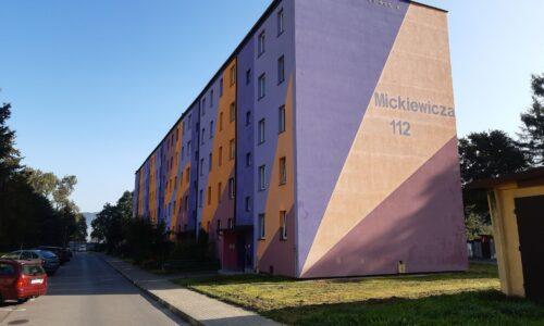 Mickiewicza 112 – docieplenie stropu piwnic