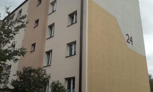 Szopena 24 – remont z dociepleniem ściany południowej