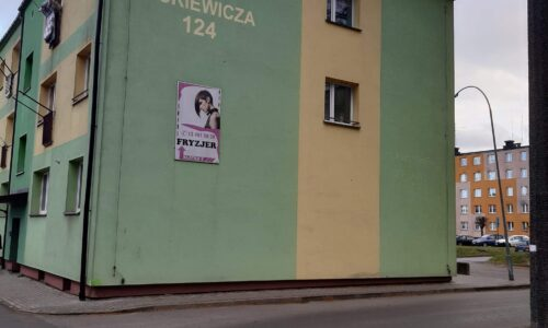 Mickiewicza 124 – wymiana drzwi wejściowych do budynku