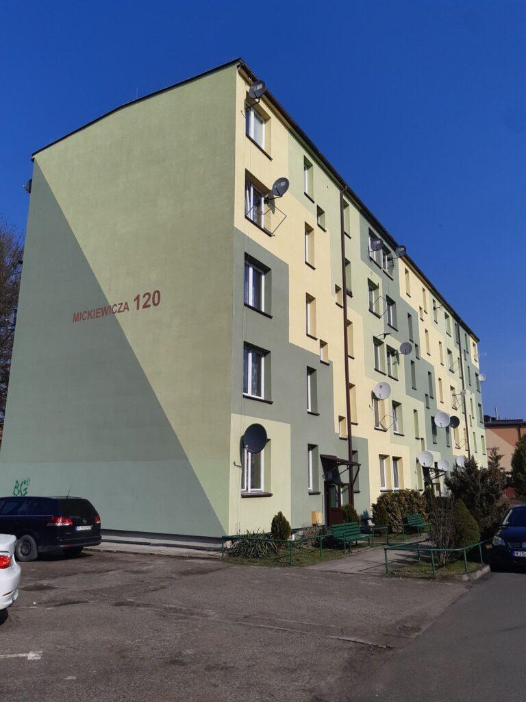Mickiewicza 120 – remont pionów kanalizacyjnych – kl. II