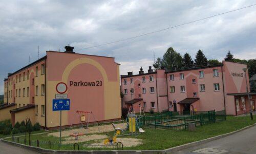 Parkowa 20 i 22 – wymiana drzwi wejściowych