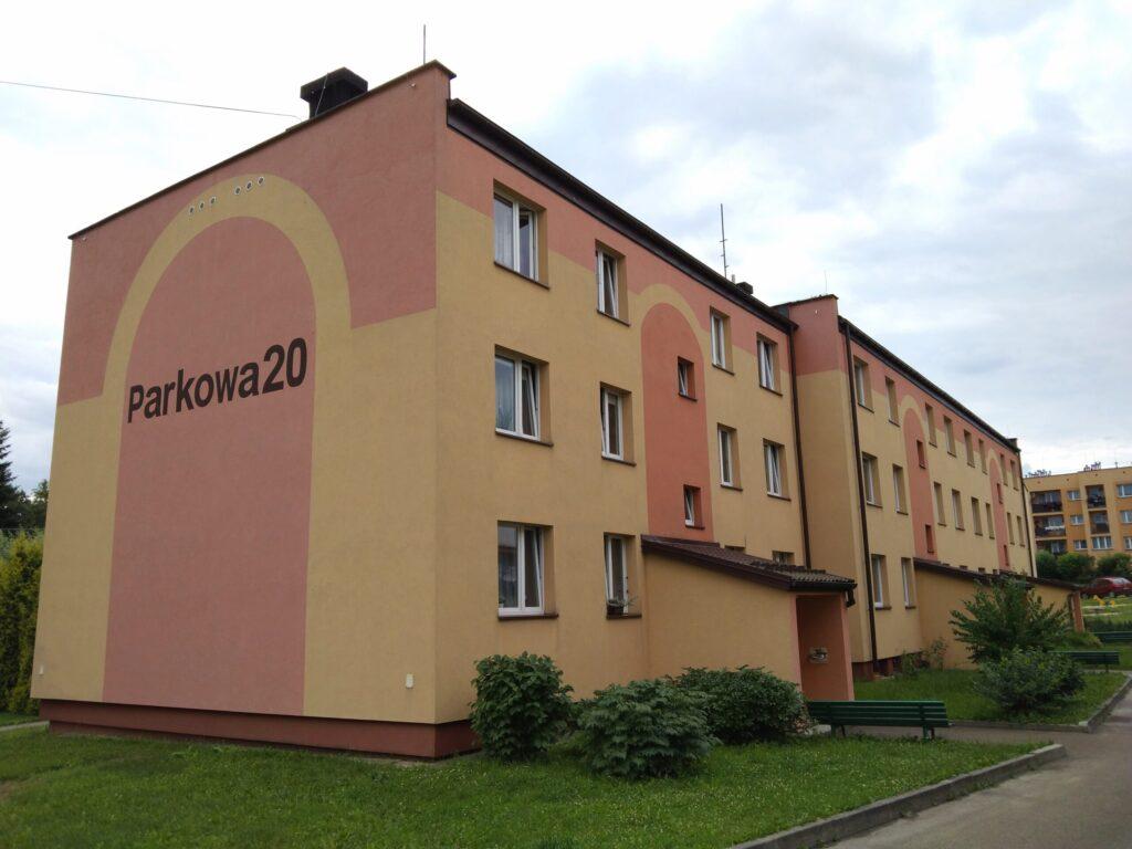 Parkowa 20 – remont wew. linii zasilających